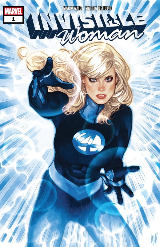 Invisible Woman #1 cover by Adam Hughes