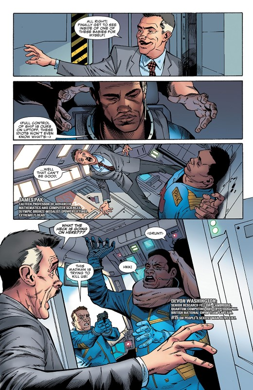 The Punisher Annual #1 art by Adam Gorham, Andy Owens, Matt Milla, and letterer VC's Cory Petit
