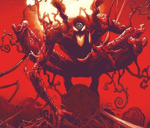 Absolute Carnage #1 cover by Ryan Stegman, JP Mayer, and Frank Martin