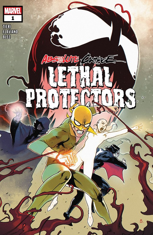 Absolute Carnage: Lethal Protectors #1 cover by Bengal