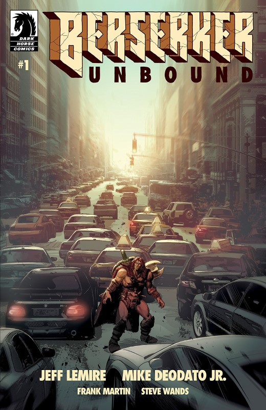 Berserker Unbound #1 cover by Mike Deodato Jr. and Frank Martin