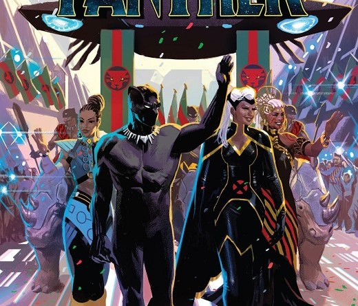 Black Panther #15 cover by Daniel Acuña