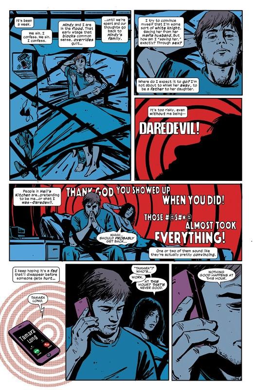 Daredevil #10 art by Jorge Fornés, Jordie Bellaire, and letterer VC's Clayton Cowles