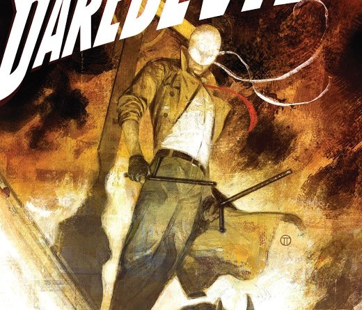 Daredevil #10 cover by Julian Totino Tedesco