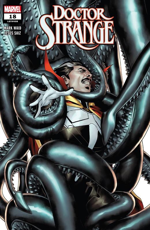 Doctor Strange #18 cover by Jesus Saiz