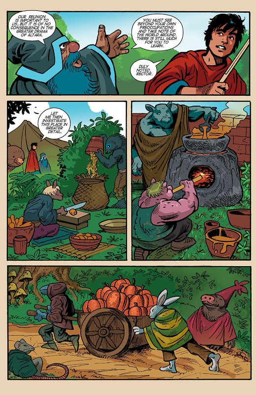 Gogor #4 art and lettering by Ken Garing