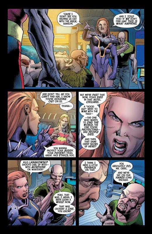 Immortal Hulk #22 art by Joe Bennett, Ruy José, Paul Mounts, and letterer VC's Cory Petit