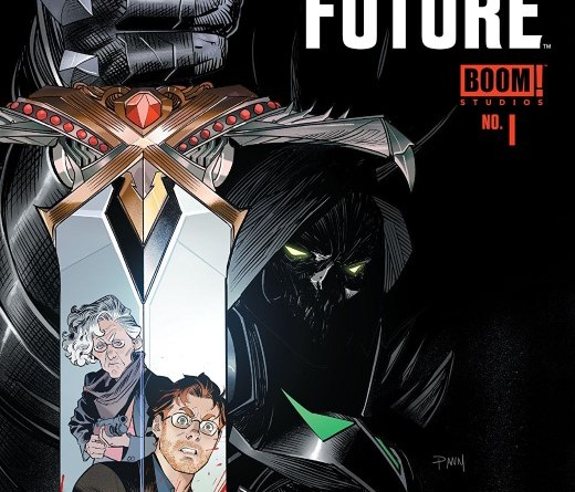Once and Future #1 cover by Dan More