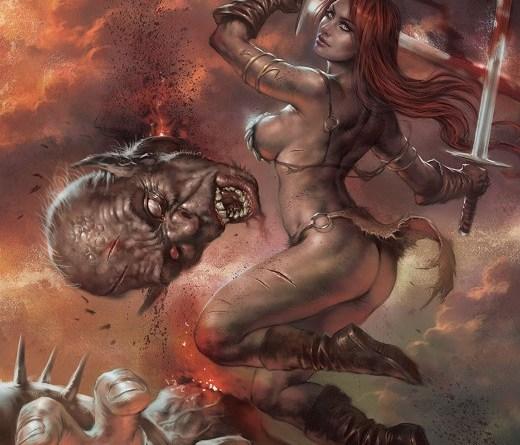 Red Sonja: Birth of the She-Devil #3 cover by Lucio Parrillo