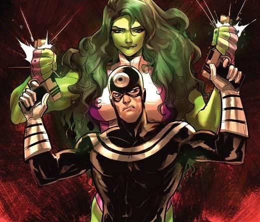 She-Hulk Annual #1 cover by Mirka Andolfo