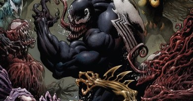 Venom #17 cover by Kyle Hotz and Dan Brown