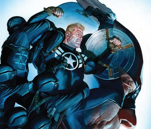 Captain America #14 cover by Alex Ross