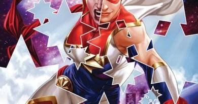 Captain Marvel #10 cover by Mark Brooks