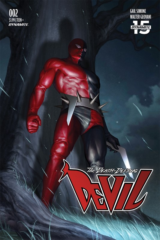 Death-Defying Devil #2 cover by Inhyuk Lee