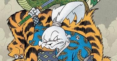 Usagi Yojimbo #4 cover by Stan Sakai