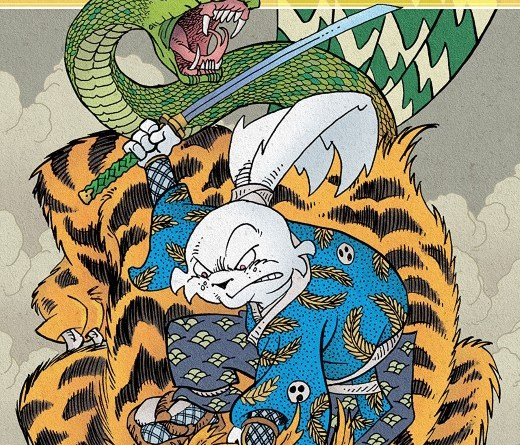 Usagi Yojimbo #4 cover by Stan Sakai