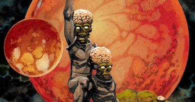 Warlord of Mars Attacks #4 cover by Dave Johnson