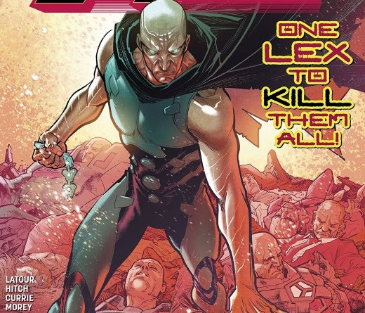Year of the Villain: Lex Luthor #1 cover by Francis Manapul