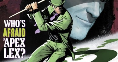 Year of the Villain: The Riddler #1 cover by Mikel Janin