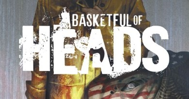 Basketful of Heads #1 cover by Reiko Murakami