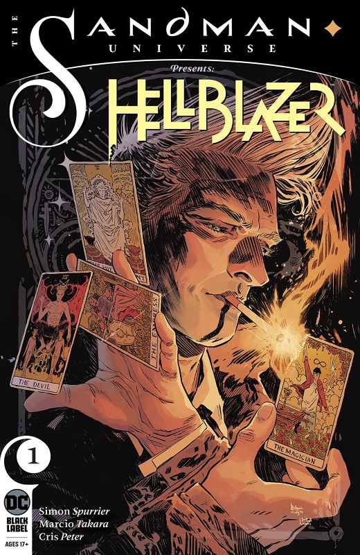 Sandman Universe Presents: Hellblazer #1 cover by Bilquis Evely and Mat Lopes