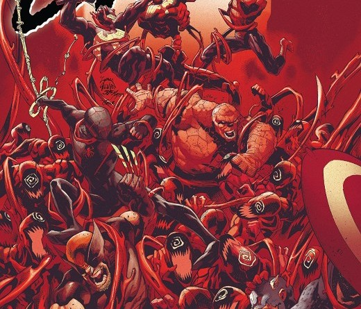 Absolute Carnage #5 cover by Ryan Stegman, JP Mayer, and Frank Martin