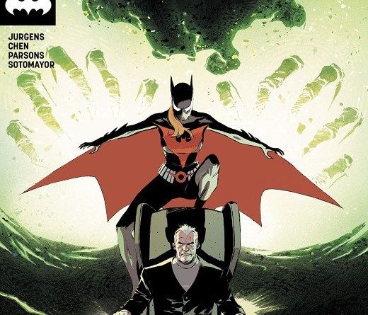 Batman Beyond #38 cover by Lee Weeks and Elizabeth Breitweiser