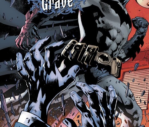 The Batman's Grave #2 cover by Bryan Hitch and Alex Sinclair
