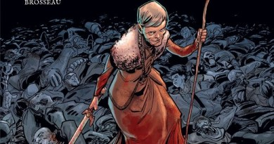 Crone #1 cover by Justin Greenwood and Brad Simpson