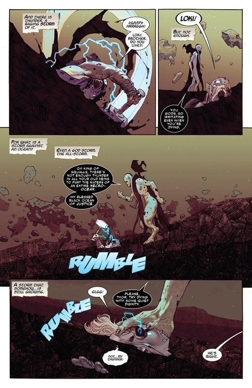 King Thor #3 art by Esad Ribic, Das Pastoras, Ive Svorcina, and letterer VC's Joe Sabino
