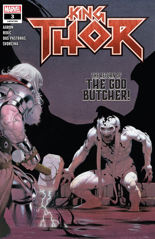 King Thor #3 cover by Esad Ribic