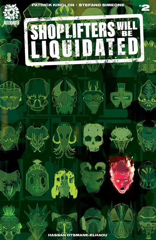 Shoplifters Will Be Liquidated #2 cover by Stefano Simeone