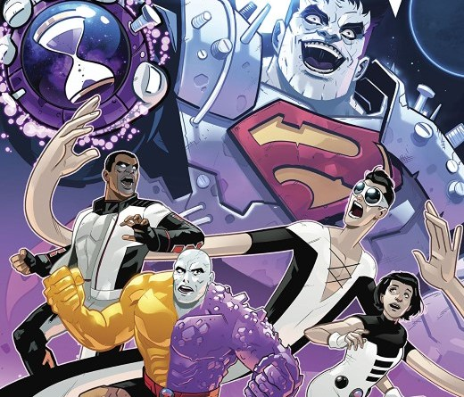 Terrifics #22 cover by Stephen Byrne
