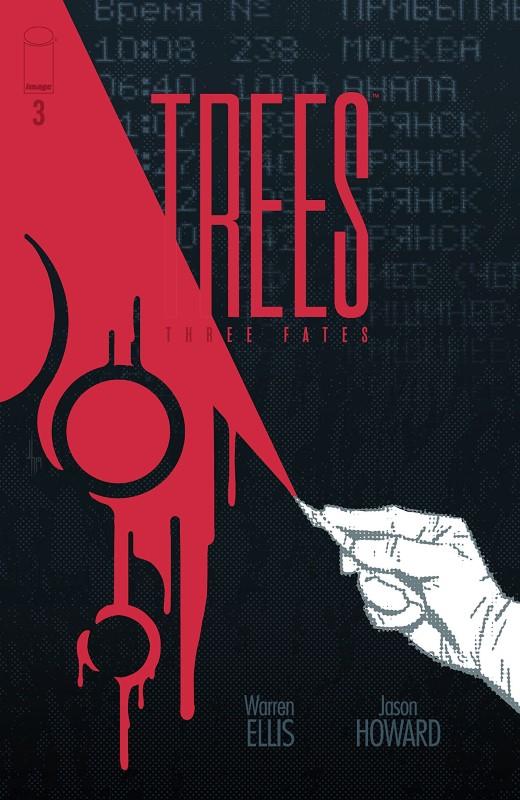 Trees: Three Fates #3 cover by Jason Howard