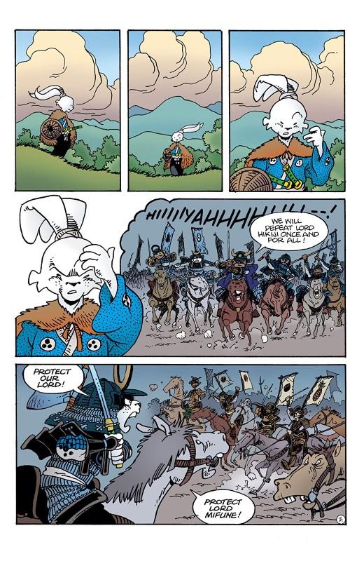Usagi Yojimbo #6 art by Stan Sakai and Tom Luth with letters from Stan Sakai