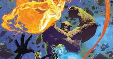 Annihilation Scourge: Fantastic Four #1 cover by Josemaria Casanovas