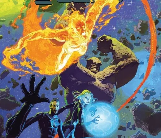 Annihilation Scourge: Fantastic Four #1 cover by Josemaria Casanovas