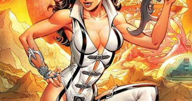 Bettie Page Unbound #8 cover by John Royle and Sebastian Cheng