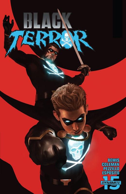 Black Terror #3 cover by Rahzzah