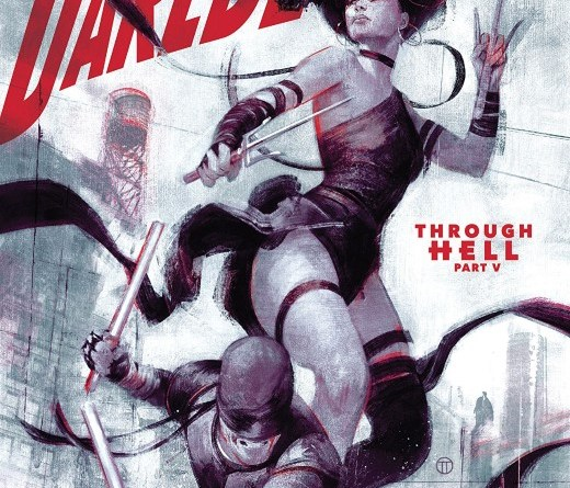 Daredevil #15 cover by Julian Totino Tedesco