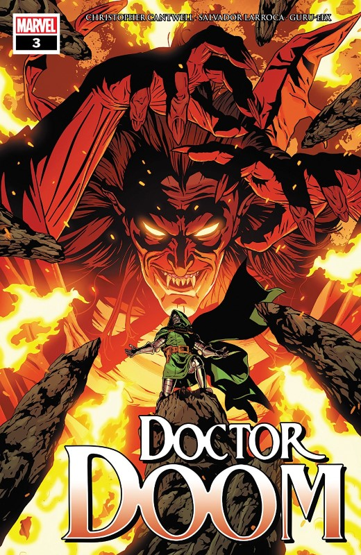 Doctor Doom #3 cover by ACO