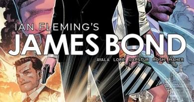 James Bond #1 cover by Jim Cheung and Romulo Fajardo Jr.