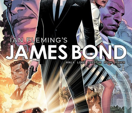 James Bond #1 cover by Jim Cheung and Romulo Fajardo Jr.