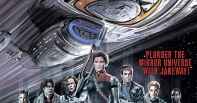 Star Trek Voyager: Smoke and Mirrors #0 cover by J.K. Woodward