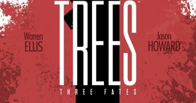 Trees: Three Fates #4 cover by Jason Howard