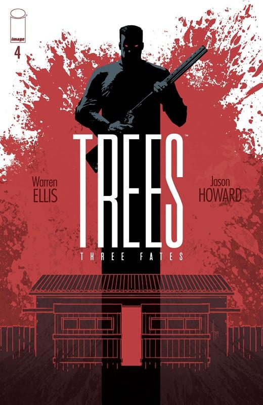 Trees: Three Fates #4 cover by Jason Howard