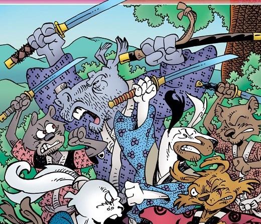 Usagi Yojimbo #7 cover by Stan Sakai