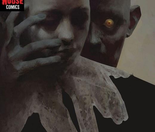 Daphne Byrne #1 cover by Piotr Jabłoński