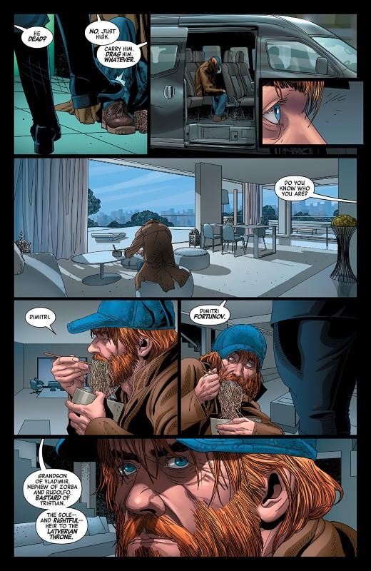 Doctor Doom #4 art by Salvador Larroca, Guru-eFX, and letterer VC's Cory Petit