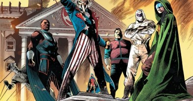 Freedom Fighters #12 cover by Eddy Barrows, Eber Ferreira, and Adriano Lucas